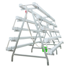 Sistema de hidroponia NFT Tower Greenhouse para vegetais