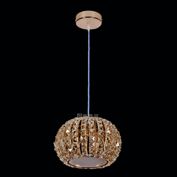 Rose Gold Lighting fixture moden K9 chandelier