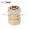Brass Compress Fitting with Female Thread Elbow