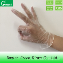 Clear Vinyl Gloves Powder Free