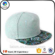 Custom plain snapback cap wholesale