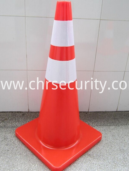 S70 CM Flexible Reflective pvc traffic cone-Safety Traffic Cone