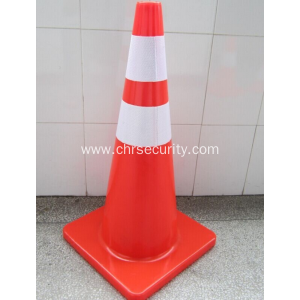 S70 CM Flexible Reflective pvc traffic cone / Safety Traffic Cone