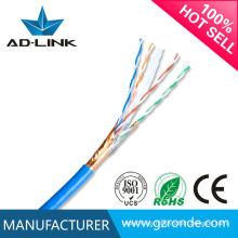 Cable promocional resistente al fuego cat6 stp