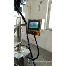 Semi-automatic fine powder filling machine for pharmaceutics, milk powder