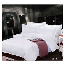 400T Ägyptische Baumwolle Weiß Jacquard 5 Sterne Hotel Luxus Bettwäsche Set
