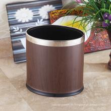 Cubierta de basura abierta de acero inoxidable para el hogar (KA-10LA)