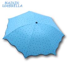Promotion Personnalisé Chinois Mignon Léger Anti UV Pluie et Le Soleil Super Mini Parapluie De Poche Fabricant Yiwu