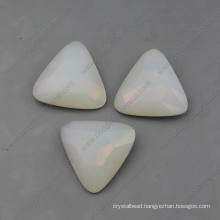 White Opal Fancy Stones Beads for Jewelry