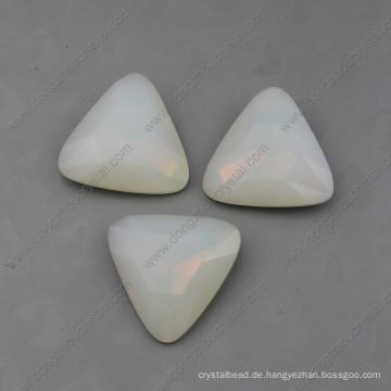 White Opal Fancy Stones Perlen für Schmuck