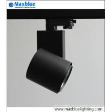 Hohe CRI gute Qualität dimmable COB LED Punkt-Schienen-Beleuchtung
