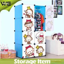 Chindren Cartoon Toy Storage Organizer Box Muebles para el hogar
