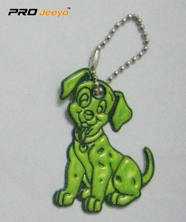 Reflective Pvc Dog Key Chain Rv 214 4