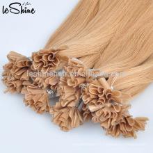 2017 vente chaude cru indien cheveux non transformés vierge utip gros cheveux humains