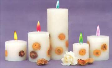 Cartoon candle