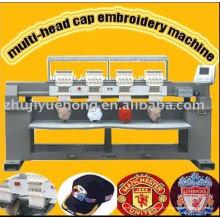 Cap / t-shirt / máquina de bordado computerizado plana