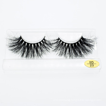 Wholesale Lash Manufacturer 3D 5D 25mm Eye Mink Lashes with Private Label Customized Package Box