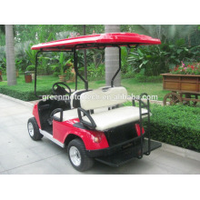Single seat cheap golf cart with 48v 2000w brushless high frequency dc moto for sale