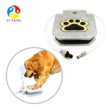 Hot Selling Best Stainless Steel Paw Activated Operated Print Raindrop Pet Cat Dog Push Pedal Drink Water Feeder Fountain Hot Selling Best Stainless Steel Paw Activated Operated Print Raindrop Pet Cat Dog Push Pedal Drink Water Feeder Fountain