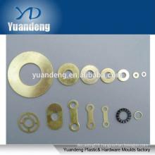 customized brass high precision washer