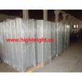 Compartimientos de puerta de malla de alambre de metal con compartimiento de zinc