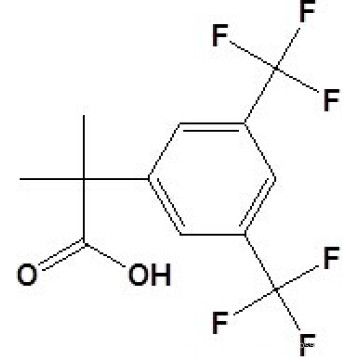2- (3, 5-Bis(trifluoromethyl)phenyl) -2-Methylpropionic Acidcas No. 289686-70-0