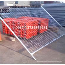Heiß getauchtes verzinktes abnehmbares oder bewegliches temporäres Bau-Zaun-Panel