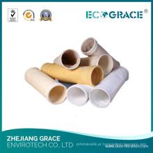 Boa peúga da tela da bandeja do filtro do coletor de poeira da resistência da hidrólise