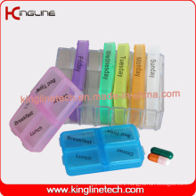 Latest Design Plastic 28-Cases Pill Box (KL-9107)