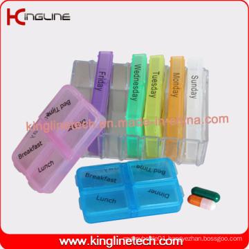 Latest Design Plastic 28-Cases Pill Box (KL-9107)
