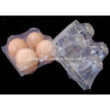 Caja al por mayor plástica del envase de la verdura / del huevo / de la fruta / de los alimentos (caja clara)