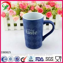 2015 New Design Wholesale Custom LOGO glazed coffee ceramic mug