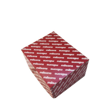 Custom logo printed paper packing cardboard gift box