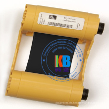 Original-ZXP-Serie 3 Zebra-Schwarz-Farbkarte Thermodrucker-Farbband