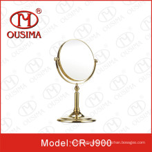 Standing Magnifying Desktop Makeup Mirror Used in Hotel