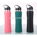 Straw sport water bottle