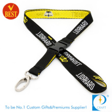 Kundenspezifisches Logo Werbeartikel gewebte Lanyard in hoher Qualität aus China