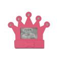 Hermoso marco de la corona para regalo de bebé
