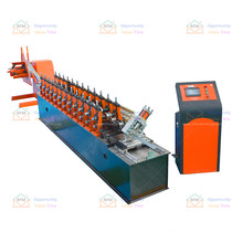 High quality weldin pipe C clipped channel hat roll forming furring channel machine