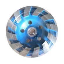 Rueda de molienda de diamante turbo de 100 mm para hormigón