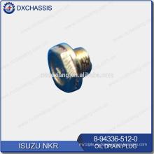 Enchufe de drenaje de aceite genuino NKR 8-94336-512-0
