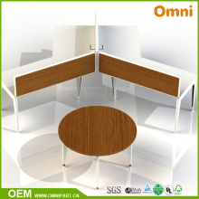 New Modern Style Wooden Office Workstation