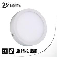 8W Ultra borde estrecho LED superficie del panel de luz para la iluminación interior