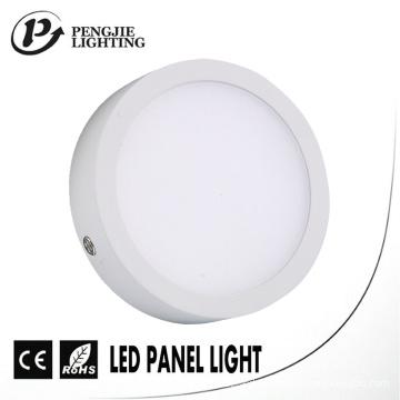 8W Ultra Narrow Edge LED Surface Panel Light para iluminação interior