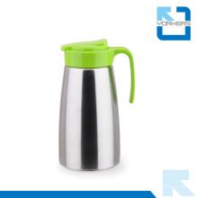 Chaleira de água fria de aço inoxidável 304 colorido & pote de chá com tampa de plástico