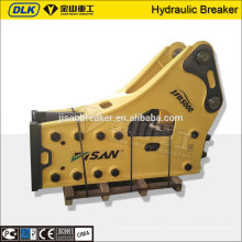 Excavator mounted rock breaker hammer/hydraulic breaker manufacturer