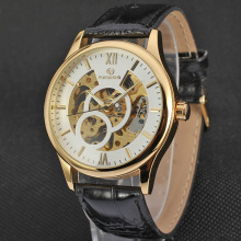 Leather wrist Automatic Mens watches on sale