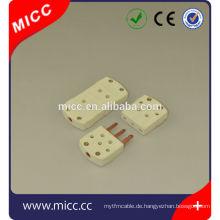 3-polige Thermoelementsteckdose