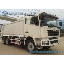 Camion à ordures de 20cbm 6X4 Shacman Comperssion