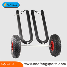 Aluminum surfboard cart